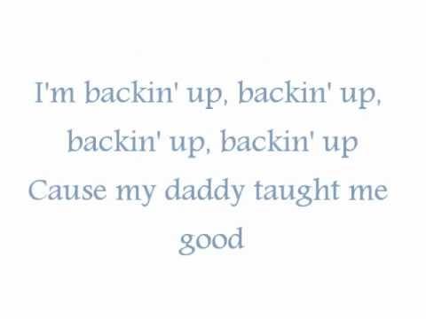 Backing Up Song \\ With lyrics..
