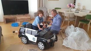 Fatih Selimin yeni Rollplay Police Car Akülü Arabası geldiiiii