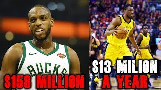 The Most OVERPAID Players Of 2019 NBA Free Agency (So Far)