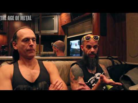 John & Seb of Baroness discussed US tour, Purple & art.