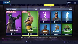 FORTNITE SHOP 30 JENNAIO - VETTURINO, INFESTATION, FRUSTA COLUMN, REAL HEART AND OTHER