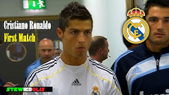 Cristiano Ronaldo  First Match for Real Madrid  HD #CristianoRonaldo