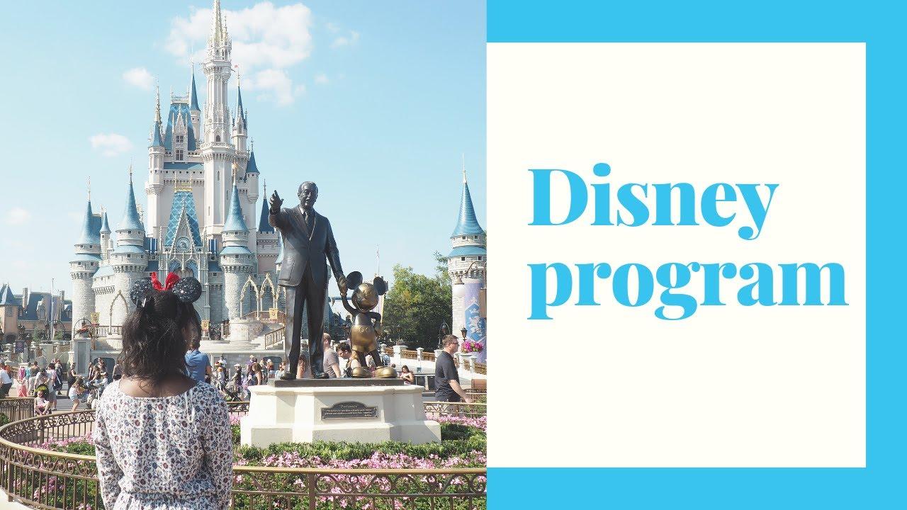 Partir Travailler Aux Usa Avec Disney International Program Youtube