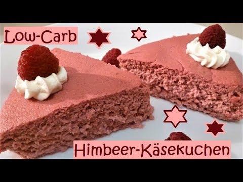 Low Carb Himbeer Kasekuchen Youtube