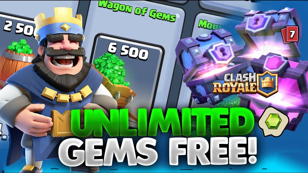 clash royale hack 2017 - how to hack clash royale - clash royale glitch-  clash royale free gems -