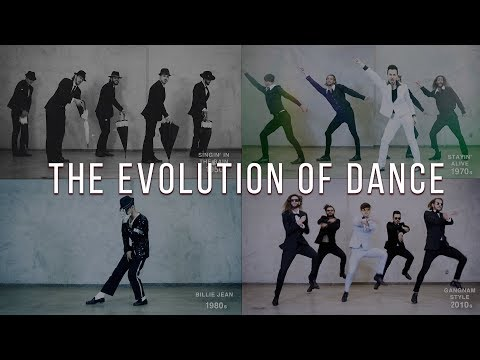 The Evolution of Dance  1950 to 2019  By Ricardo Walker's Crew
