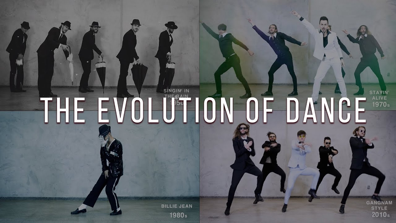 The Evolution of Dance from 1950 to 2019: A 7-Decade Joy Ride in 6 Minutes