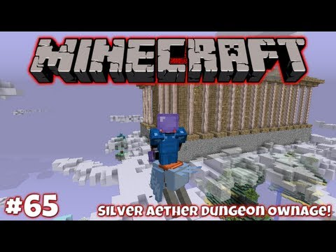 Silver Aether Dungeon Ownage! || Survival In Minecraft (1.2.5) #65