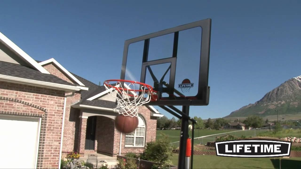 lifetime basketball goal lifetime portable basketball hoop model 71286 29282