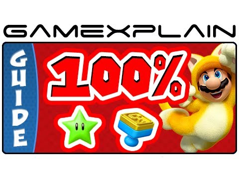 All 380 Green Stars & 85 Stamps in Super Mario 3D World in 60 minutes - 100% Guide & Walkthrough