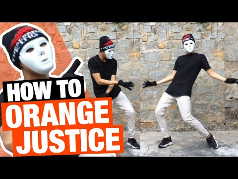 """How To Do The """"ORANGE JUSTICE"""" Dance in FORTNITE ( The ROY PURDY Tutorial )   How To with King"""