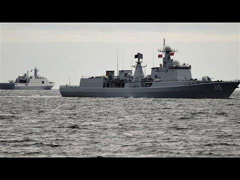 Chinese Ships Came Within 12 Nautical Miles of U.S. Coast