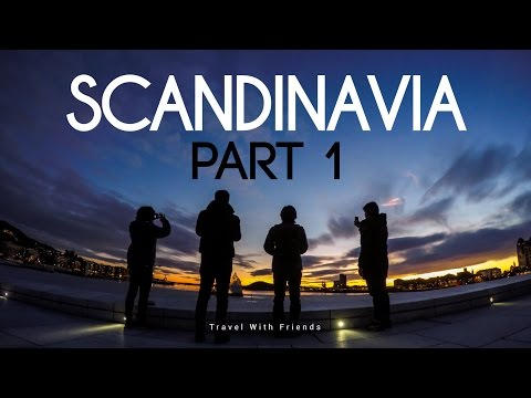 Scandinavia: Part 1 - From Oslo to Bergen in 4K