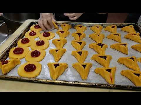 Hamantaschen Purim Video By Congregation Beth Israel AZ And Chompie's