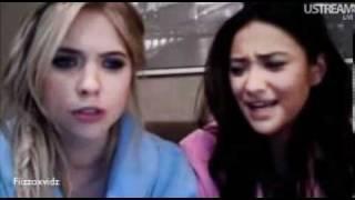 Live Chat  Shay Mitchell & Ashley Benson 8/11/2011 PART 1