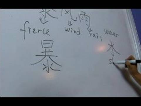 How to Write Chinese Symbols for Weather II : How to Write