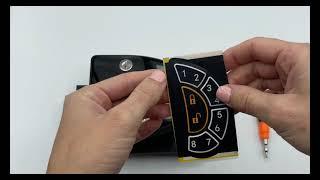 Latch.it RV Keyless Door Lock Keypad Overlay Replacement