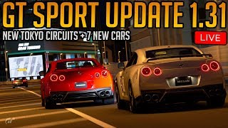 Gran Turismo Sport: December Update 1.31 (2 New Tokyo Layouts + 7 New Cars)
