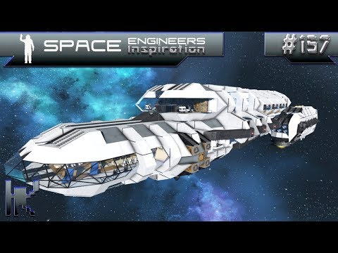 Space Engineers Inspiration - Episode 157: Kumo 1, Observer Shadow, & Interbus A-3900