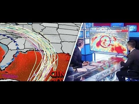 Hurricane Nate path Spaghetti models show DIRECT HIT on US   state of emergency declared