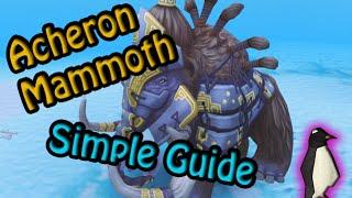 Runescape - Acheron Mammoth Guide