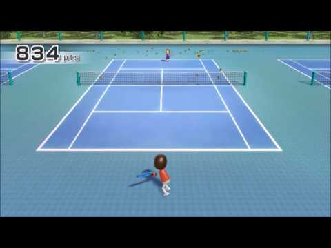 (TAS) Wii Sports Tennis- 999 Points: Max Score Possible【Returning Balls】