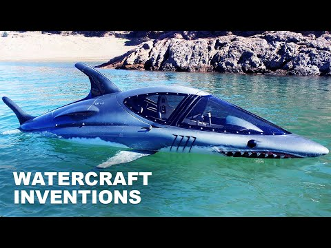 10 Cool Watercraft Inventions You Must See - [Cool Boats, Jet Bikes & Ships]