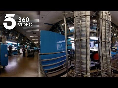 Printing Newspapers at the Los Angeles Times | KTLA 360