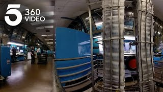 Tour the Los Angeles Times Printing Plant in 360