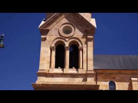 Church Bells Tolling Noon - Cathedral Basilica of St. Francis of Assisi, Santa Fe, New Mexico