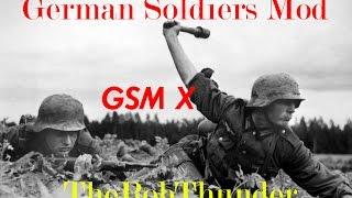 German Soldiers Mod ВТВ2 Штурм. Захват флагов 3vs3.GSM for Men of War: Assault Squad 3vs3 #5