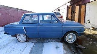 забытый на 40 лет в гараже Запорожец 966