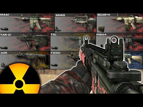 1 Nuke With EVERY AR In MW2 In One Video... (2020)