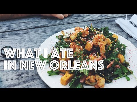 WHAT I ATE IN NEW ORLEANS (VEGAN) EP #35