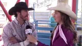 Tucson Rodeo 2014 Performance 3 Bareback Riding Winner - Justin Miller