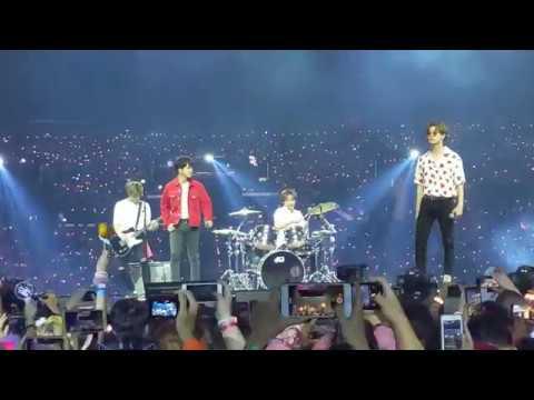 [KCON LA 2019] N.FLYING - Gogobebe/DALLA DALLA/Rooftop/Bohemian Rhapsody - FanCam 2019.08.18