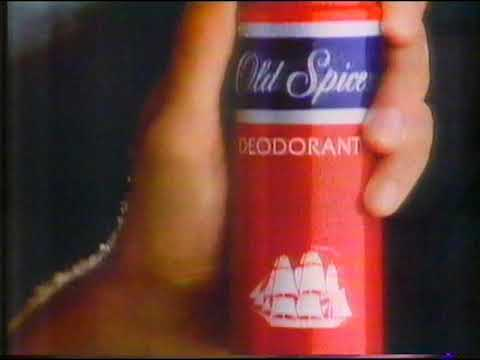 Old Spice TV Advert 1985