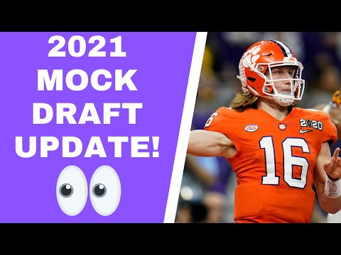 Minnesota Vikings 2021 Mock Draft Update; key stats from Sunday