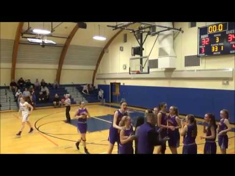 Game Highlights Girls' Varsity: Voorheesville 48 vs Ichabod Crane 45 (F)
