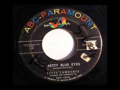 Pretty Blue Eyes - karaoke- original (Steve Lawrence)