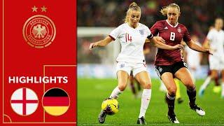 England - Deutschland 1:2 | Highlights | Frauen Freundschaftsspiel