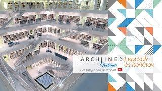 Lépcsők és korlátok részletesen - ARCHLine.XP WEBINAR