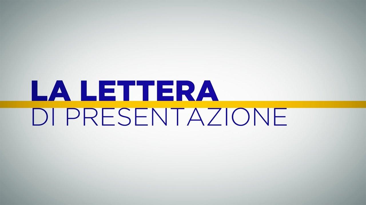 PresentazioneScrivila Modo Nel Lettera Di GiustoAlmalaurea La 7gvbYf6y