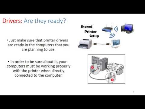 How to Connect a USB Printer to a Modem or Router for Wireless Network Printing
