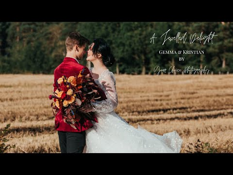 A Styled Shoot | Jewelled Delight with Gemma & Kristian
