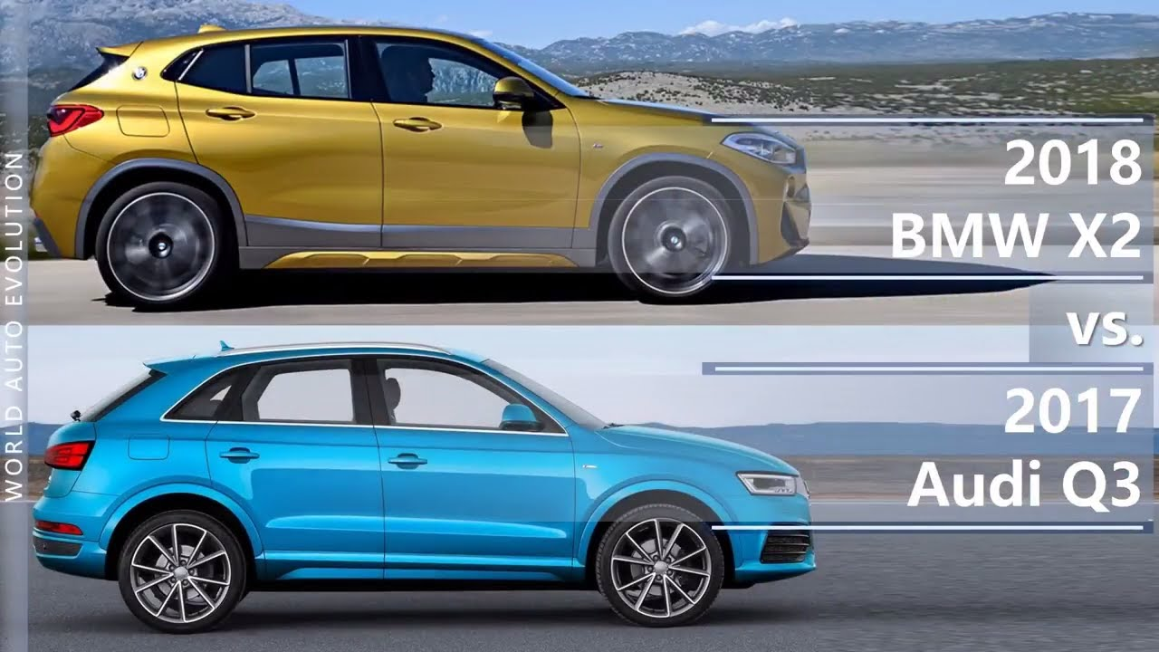2018 bmw x2 vs 2017 audi q3 technical comparison youtube. Black Bedroom Furniture Sets. Home Design Ideas