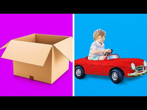 37 FANTASTIC CARDBOARD CRAFTS FOR THE WHOLE FAMILY