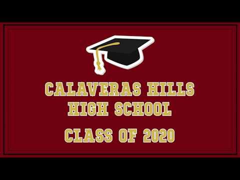 Calaveras Hills High School Graduates 2020