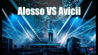 ALESSO pays tribute to AVICII at Tomorrowland 2018