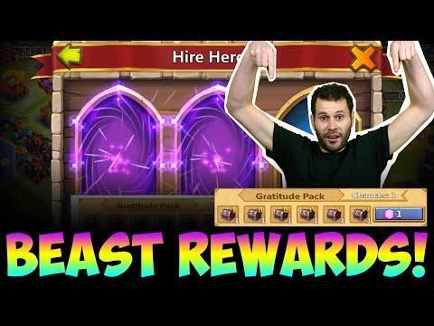 JT's F2P Hero Collector Floating Isle BEAST Rewards Castle Clash
